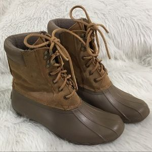Sperry top sider water proof winter snow boots
